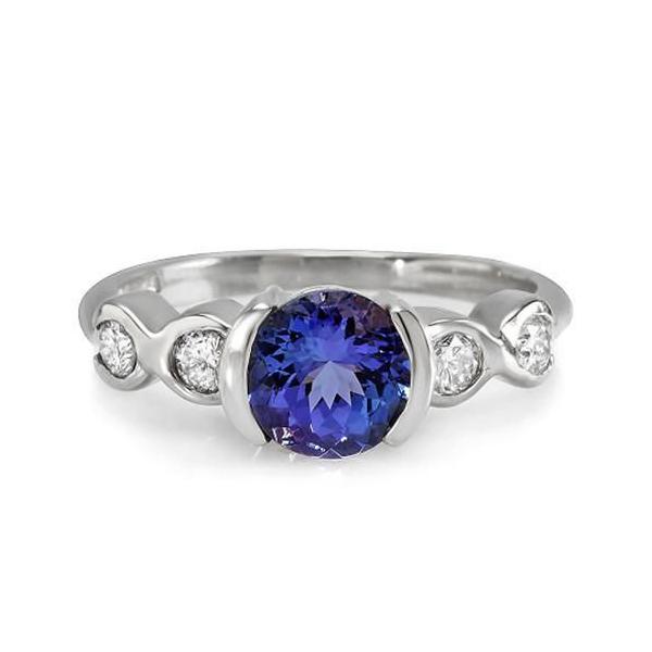1 carat tanzanite ring