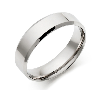 Simple men's ring
