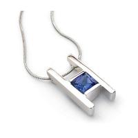 tanzanite necklace