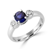 real sapphire rings