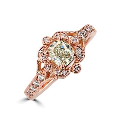 Unique vintage wedding ring