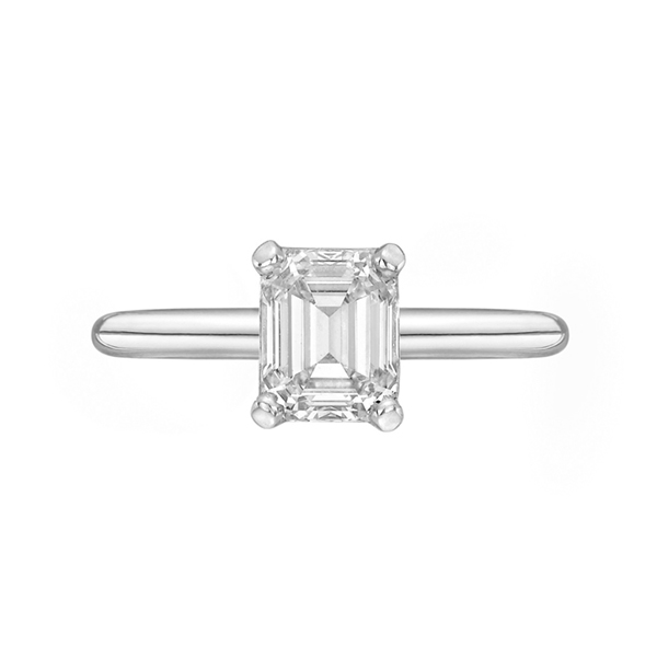 Emerald cut diamond ring in South Africa