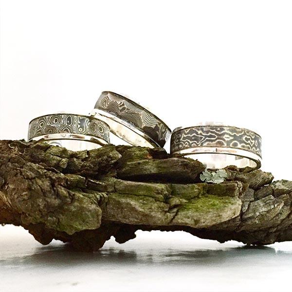 Black rings for men