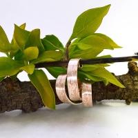 Mokume gane jewellery