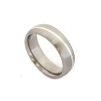 Unique titanium rings