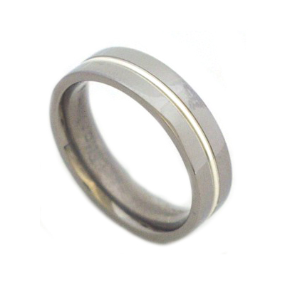 Men's rings titanium
