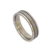 Unique titanium rings for men