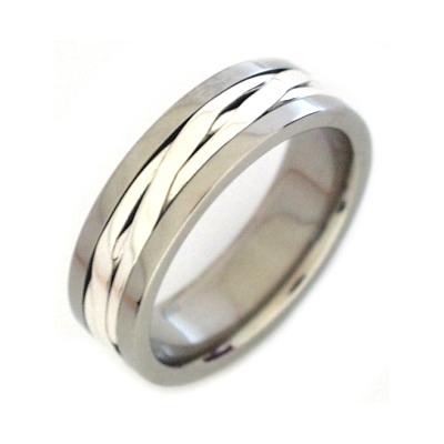 Men's titanium ring