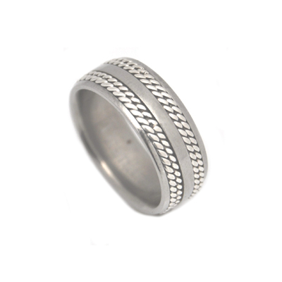 Celtic ring for men