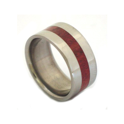Mens wooden wedding rings