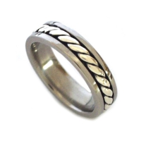 Men's celtic wedding band