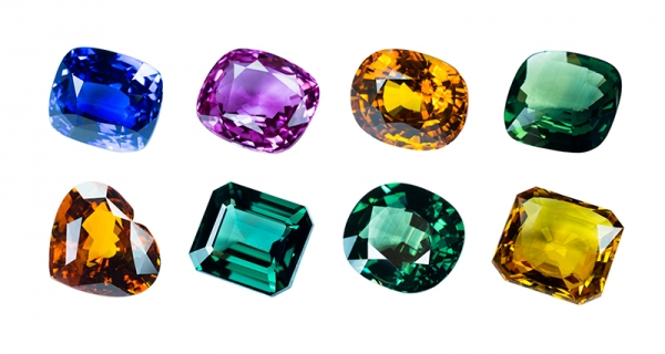 Coloured Sapphires