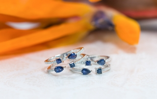 Sapphire rings for September birthstone