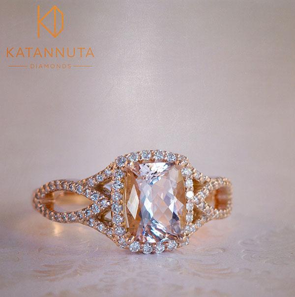 Morganite rings South Africa