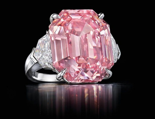 Harry Winston buys record-breaking pink diamond