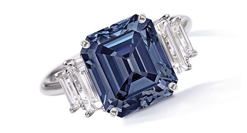 The Ai Blue Diamond