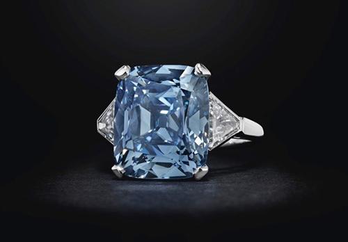 Blue Diamond Bulgari Ring
