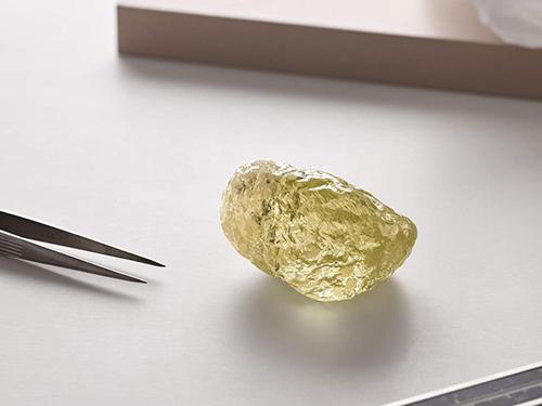 Diavik 552ct yellow diamond
