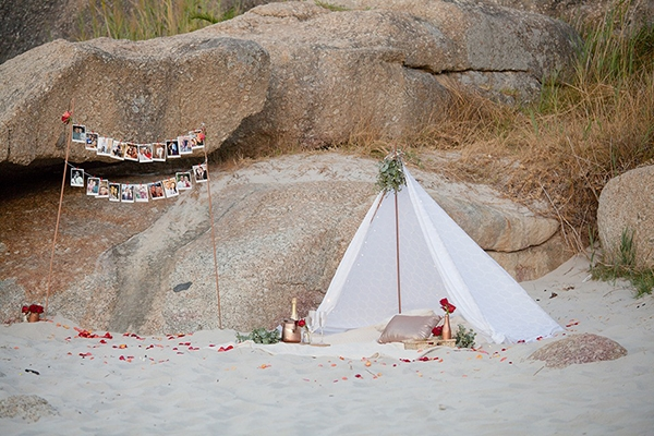 Beach picnic proposal