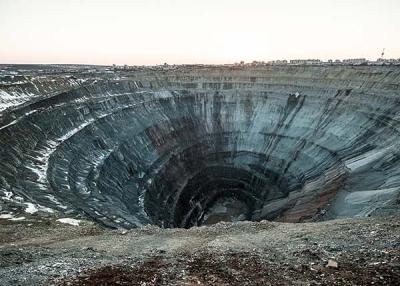 Mir diamond mine