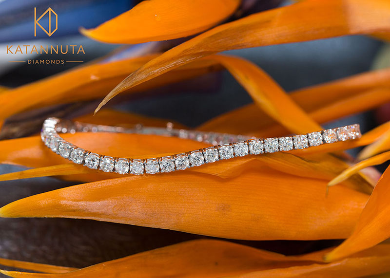 Round diamond tennis bracelet South Africa