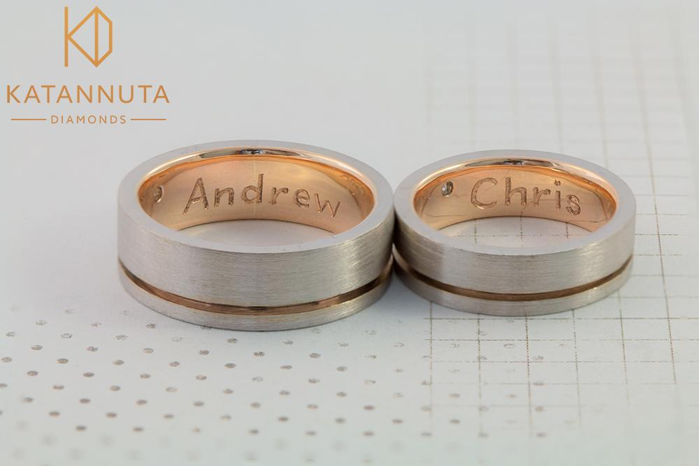 Gay men's wedding rings in South Africa