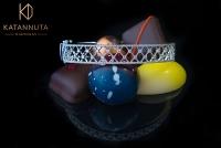 Unique diamond bangle