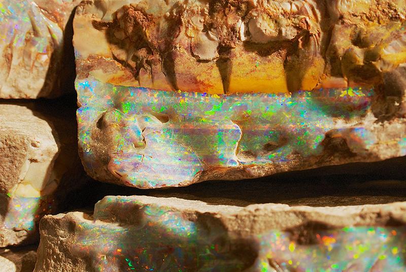 Coober Pedy Boulder Opal
