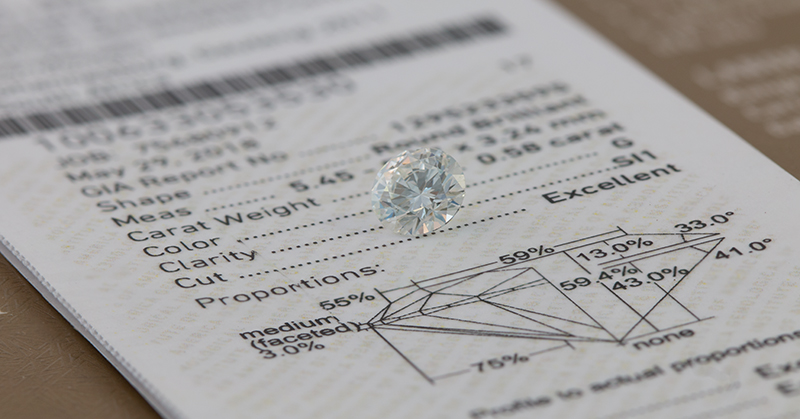GIA diamond South Africa