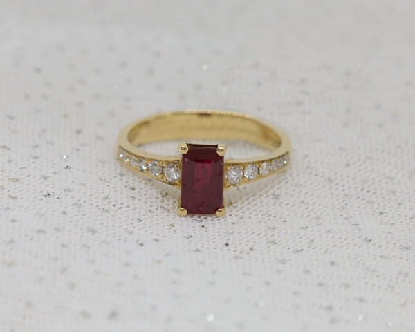 Ruby ring south africa Valentine's Day