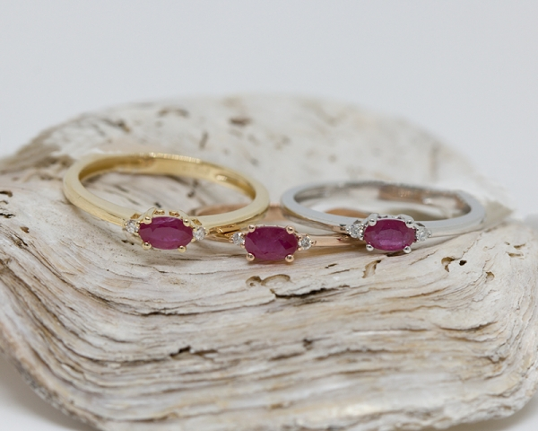 Valentine's Day gift ideas stacking rings