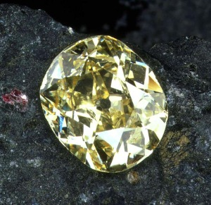 South Africa's first yellow diamond
