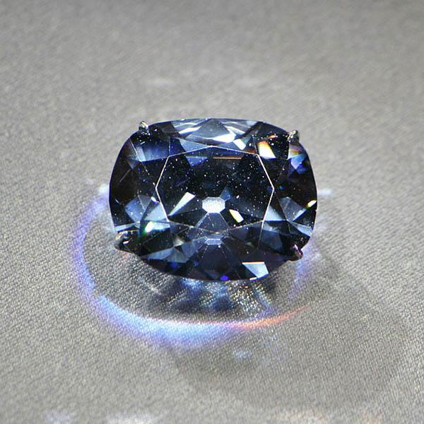 Hope diamond blue diamond