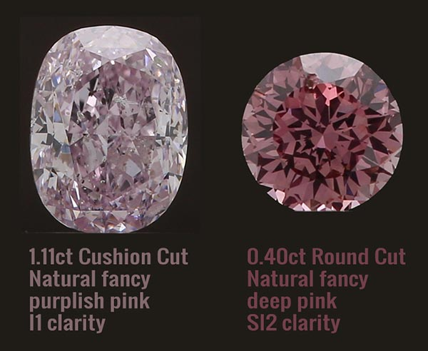 Pink diamonds in South Africa