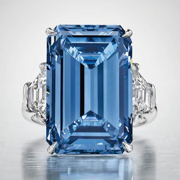 Oppenheimer Blue Diamond from South Africa