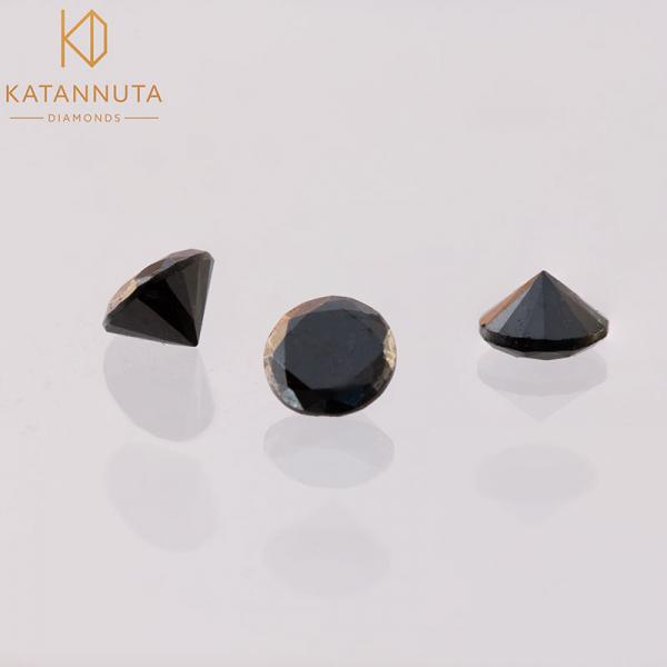 Parts of a black diamond