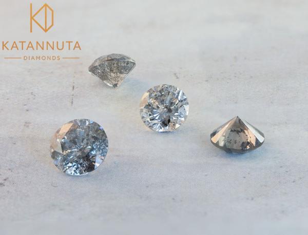 Salt and pepper diamonds South Africa