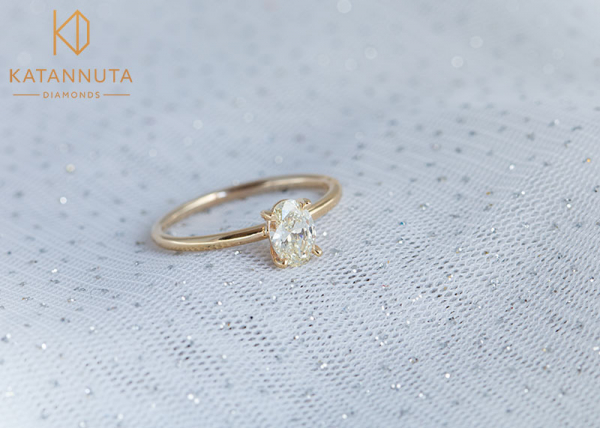 Solitaire oval diamond ring South Africa