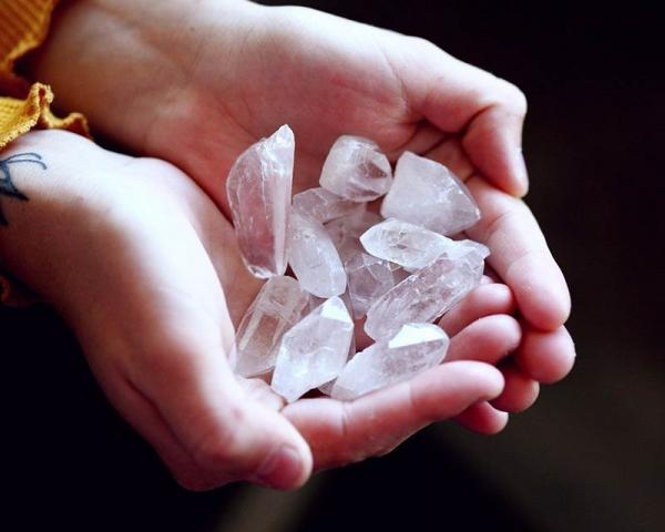 Quartz crystals KZN