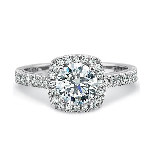engagement ring design halo