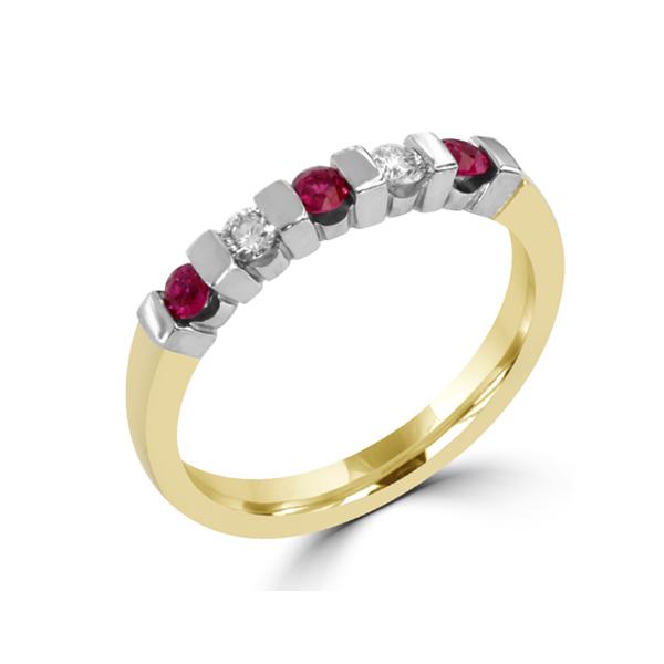Ruby wedding ring