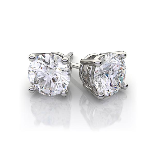 big diamond earrings