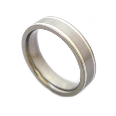 Titanium rings for men