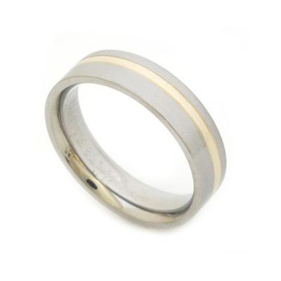 South Africa men's titanium rings