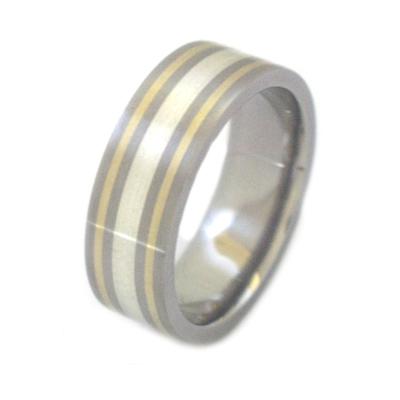 Mens titanium wedding bands