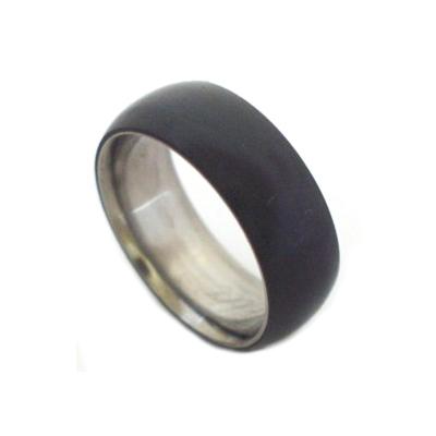 Black metal rings