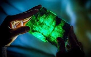 Zambian emerald crystal