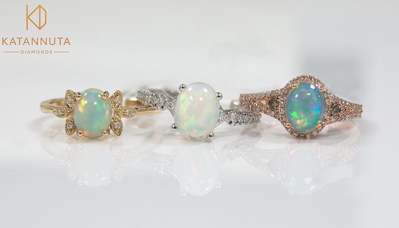 An obsession with opal (October's birthstone)