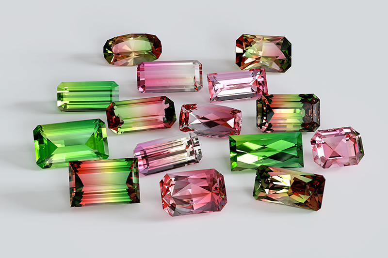 Tempting tourmaline, October's second birthstone.