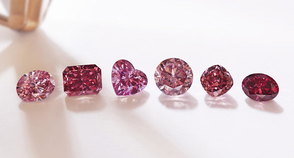 Captivated by Colour, Part II: Pink diamonds